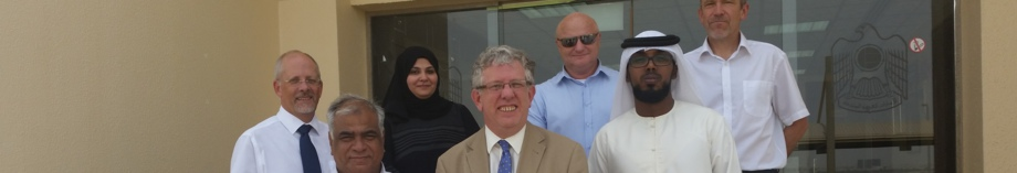 Bill Leach and colleagues, Al Mafraq, Abu Dhabi